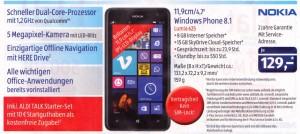Aldi Prospekt Angebot Nokia Lumia 625 30.10.2014