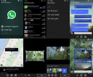 Leaked Screenshots WhatsApp Update for Windows Phone