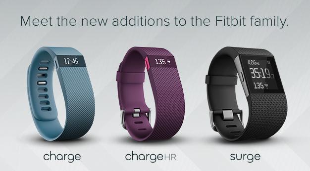 Fitbit stellt drei neue Activity-Tracker vor