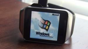 Windows 95 auf Galaxy Gear Live