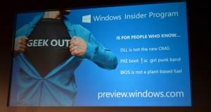 Windows 10 Insider Programm