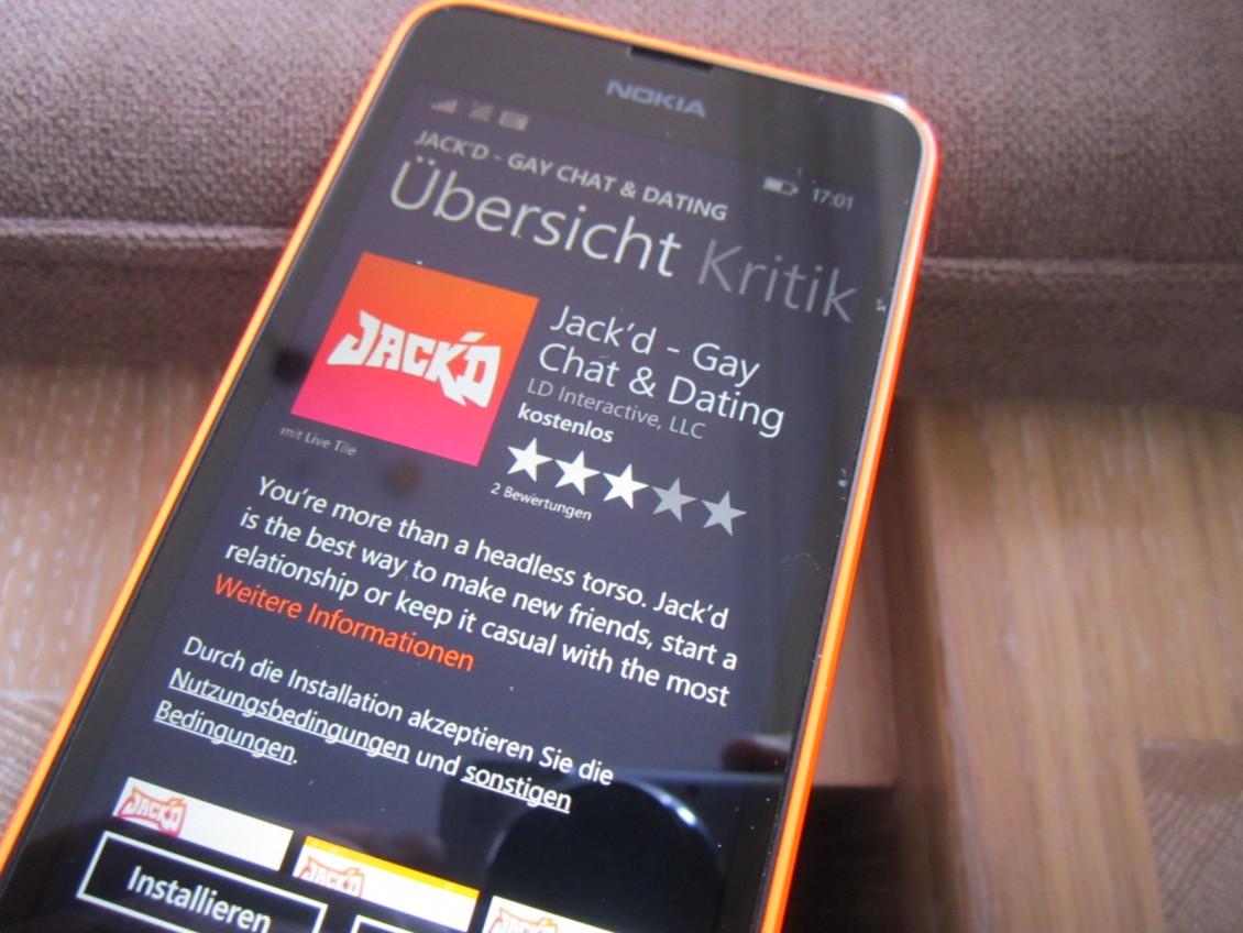 Jackd: Beliebte Dating- und Chat App für Schwule ab