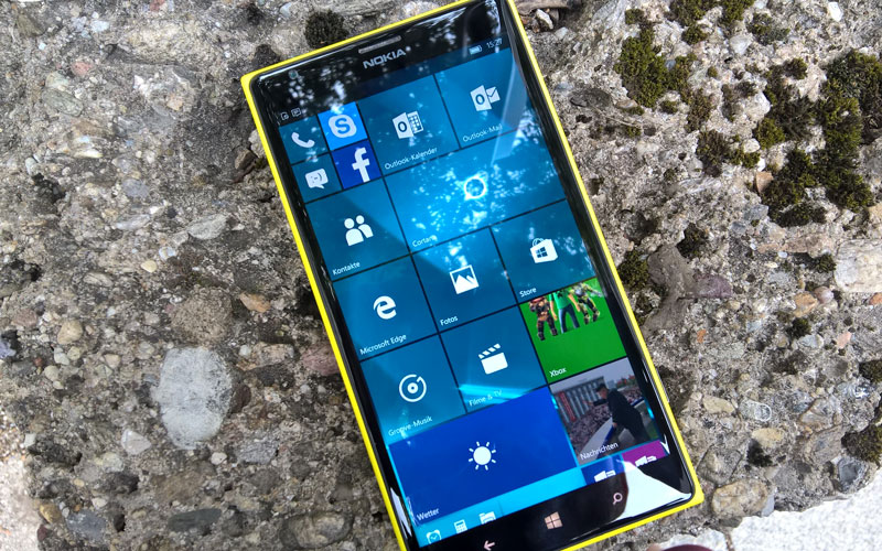 Windows Mobile Windows Phone Lumia 1520