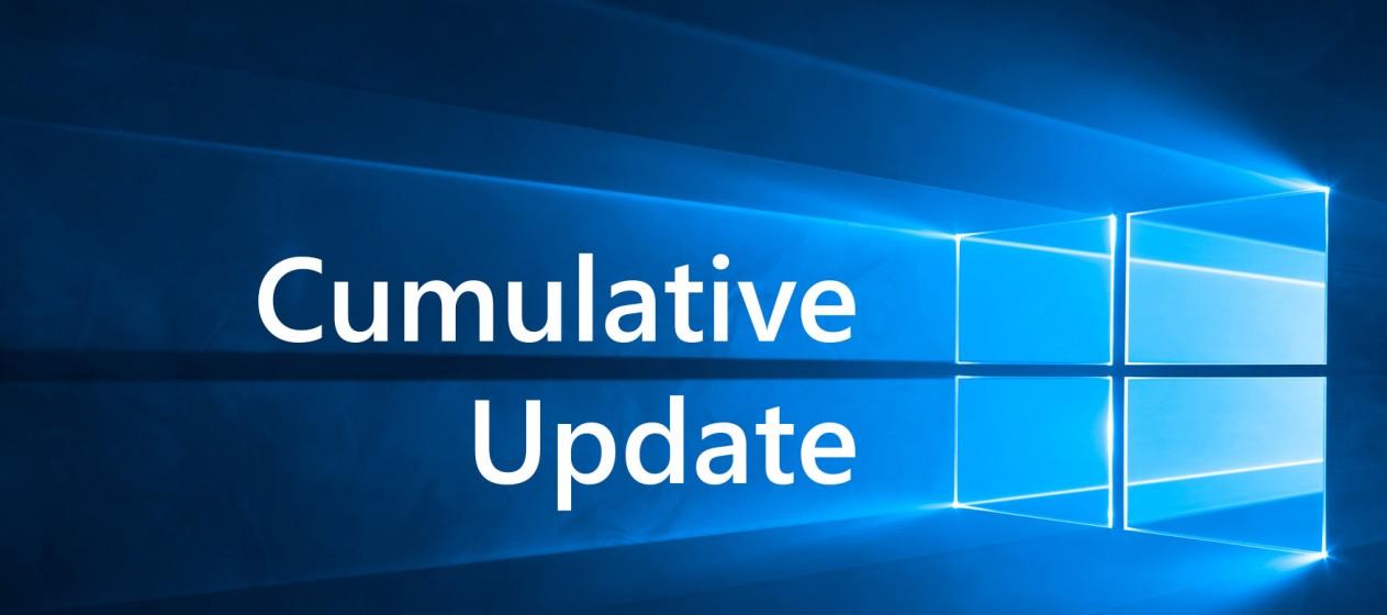 Windows 10 kumulatives Update
