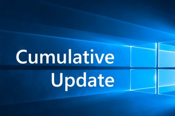 Windows 10 kumulatives Update