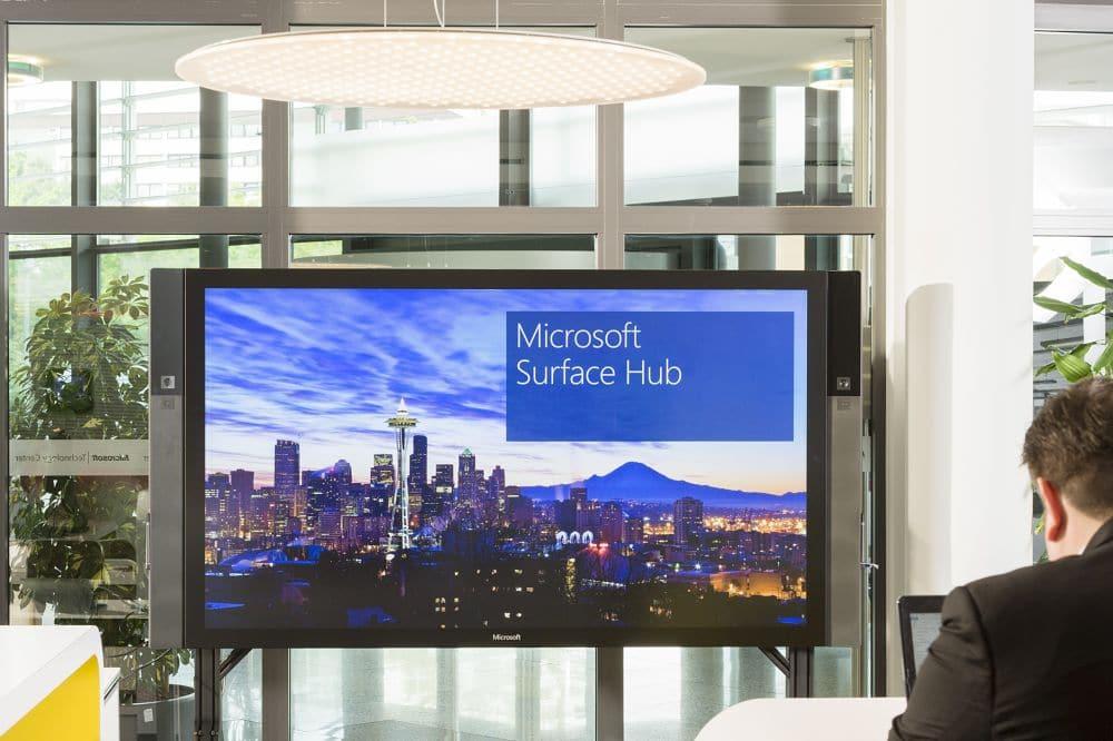 Surface Hub: Immer beliebter auch in deutschen Unternehmen
