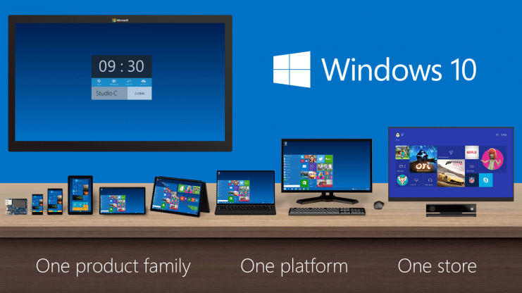 Windows 10 One Platform One Store
