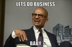Microsoft Cloud Umsatz