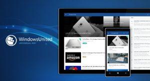 WindowsUnited Windows 10 UWP App
