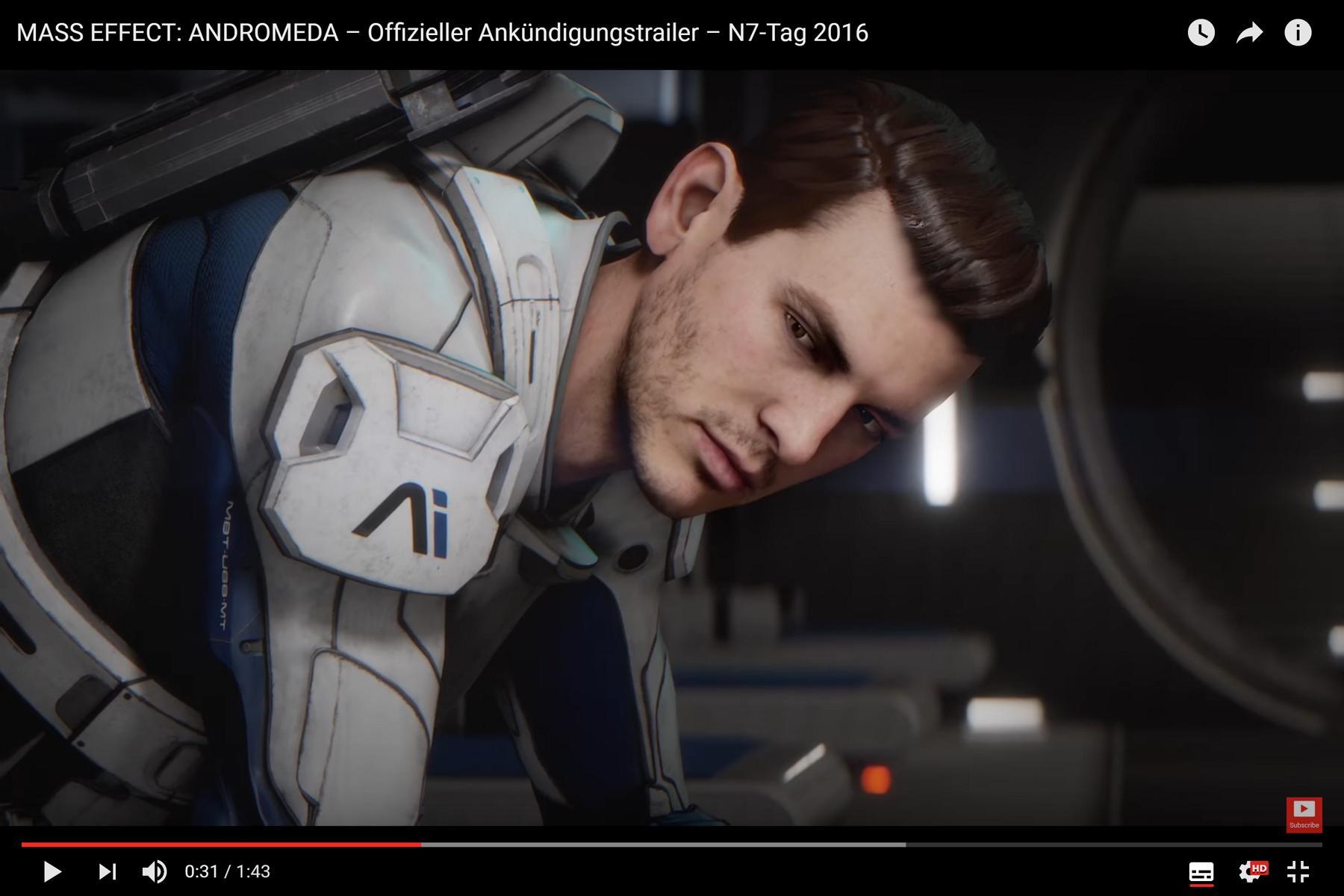 Video Mass Effect Andromeda Die Ersten 13 Minuten Spielzeit Sehen