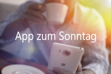 Windows Windows Phone App Tipp zum Sonntag