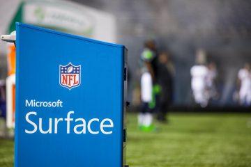 Surface NFL Werbedeal verlängert