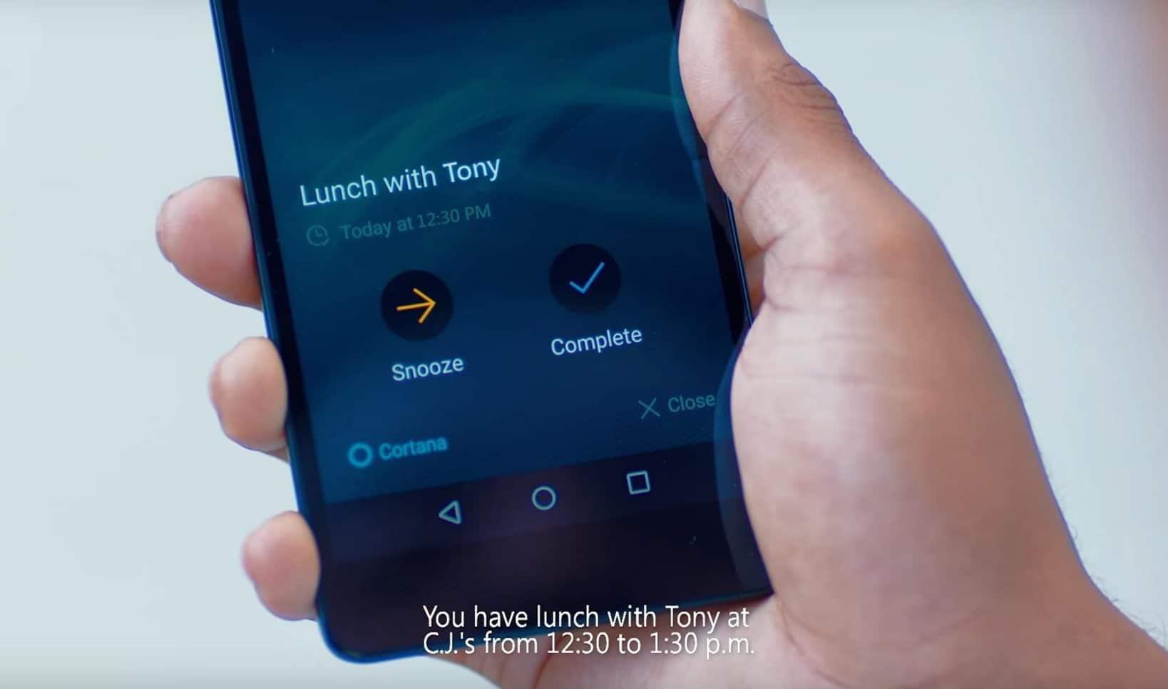 Cortana PC und Android