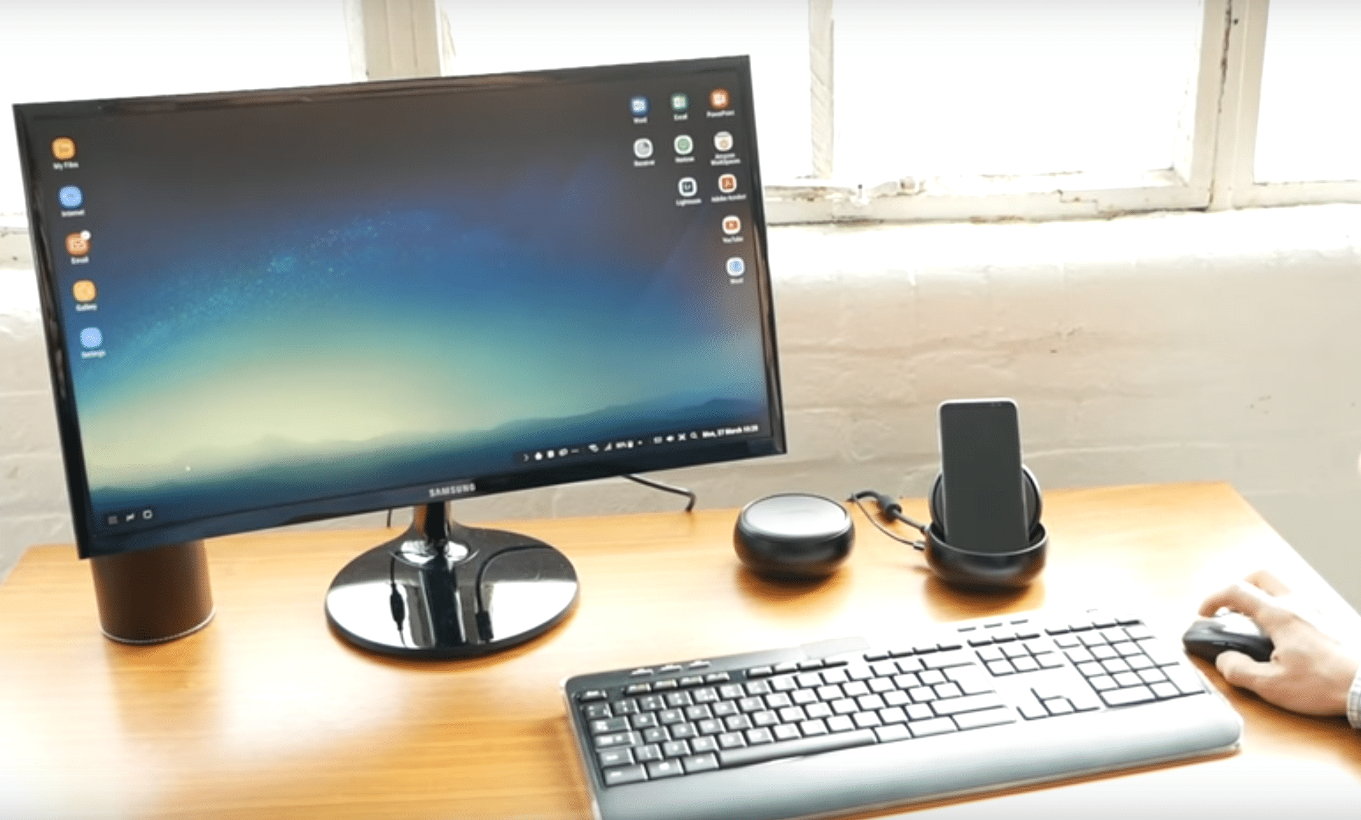 Samsung Galaxy Dex Desktop Modus