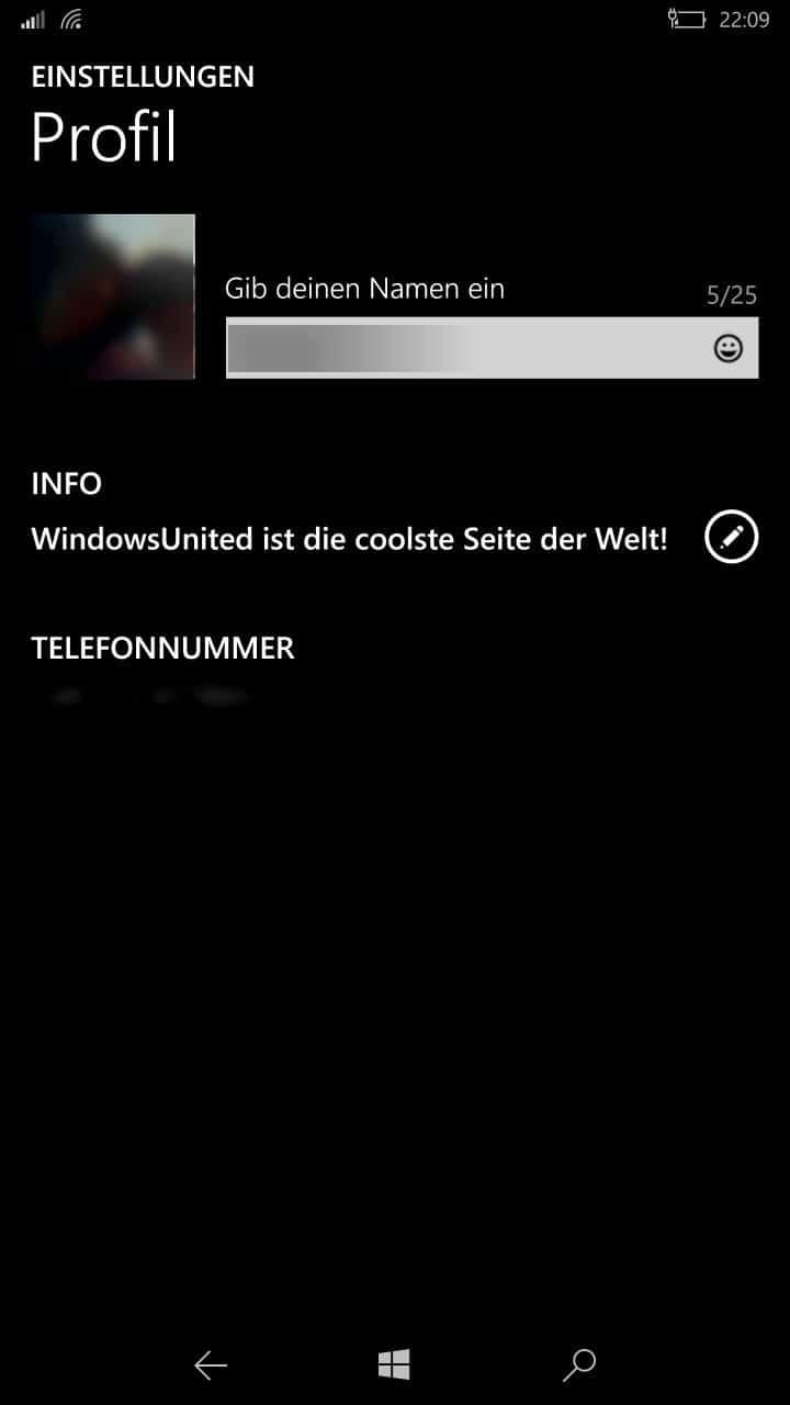 Whatsapp Der Alte Status Feier Unter Windows Phone