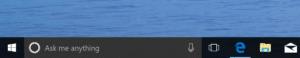Cortana Taskbar WIndows 10 Build 15046