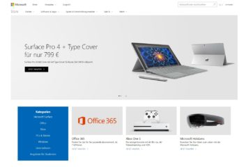 Microsoft Store Redesign