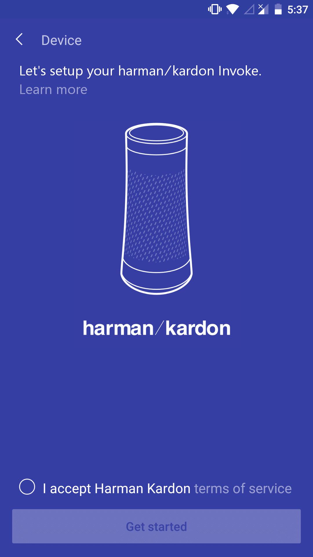 Harman Kardon Einrichten Android
