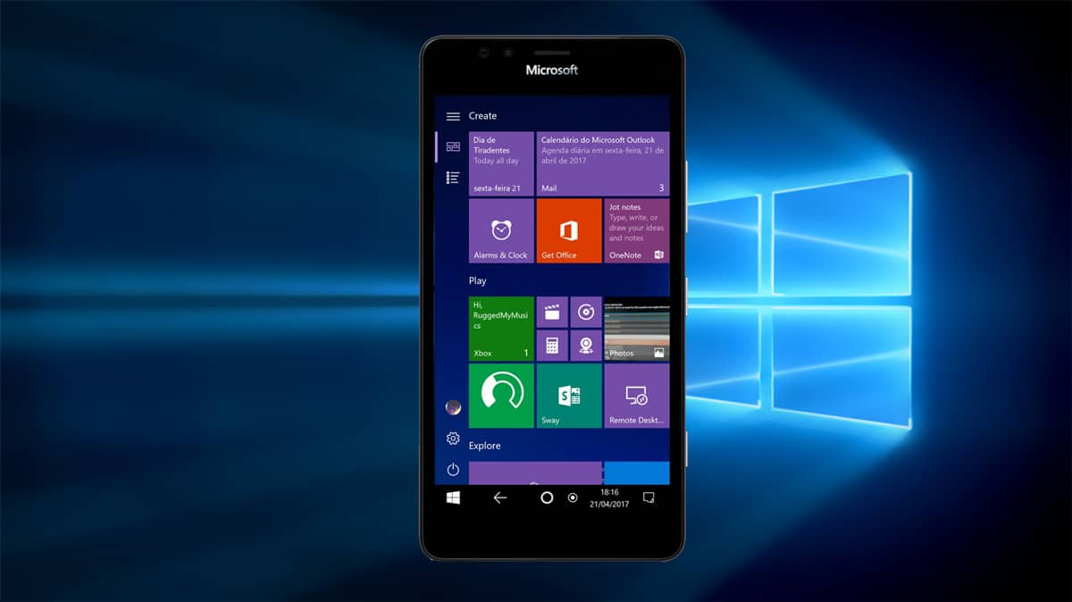 Windows 10 Phone Modus Leak