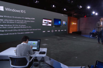 Microsoft Windows 10 S Präsentation