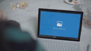 Story Remix Windows 10 Auf Surface Book