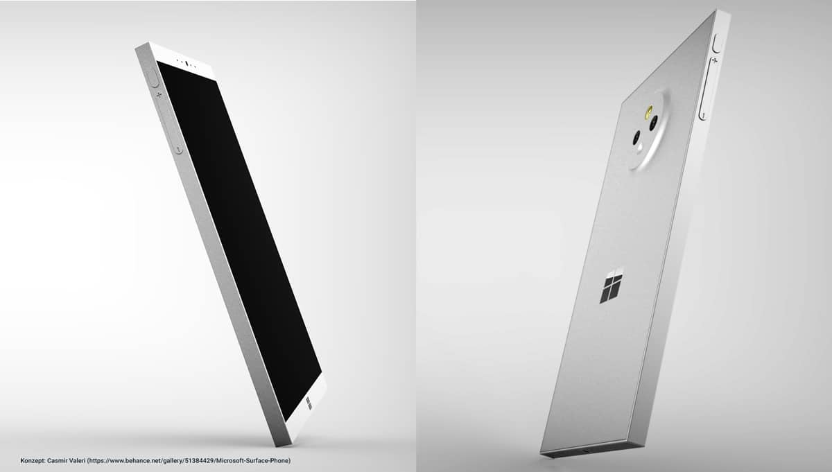 Surface Phone Fan Konzept Casimir Valeri