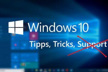 Windows 10 kein Support 1507