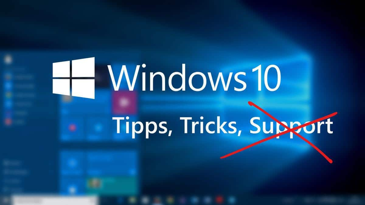 Windows 10 kein Support 1507