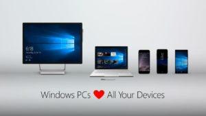 Windows 10 PCs lieben iPhones und Androiden