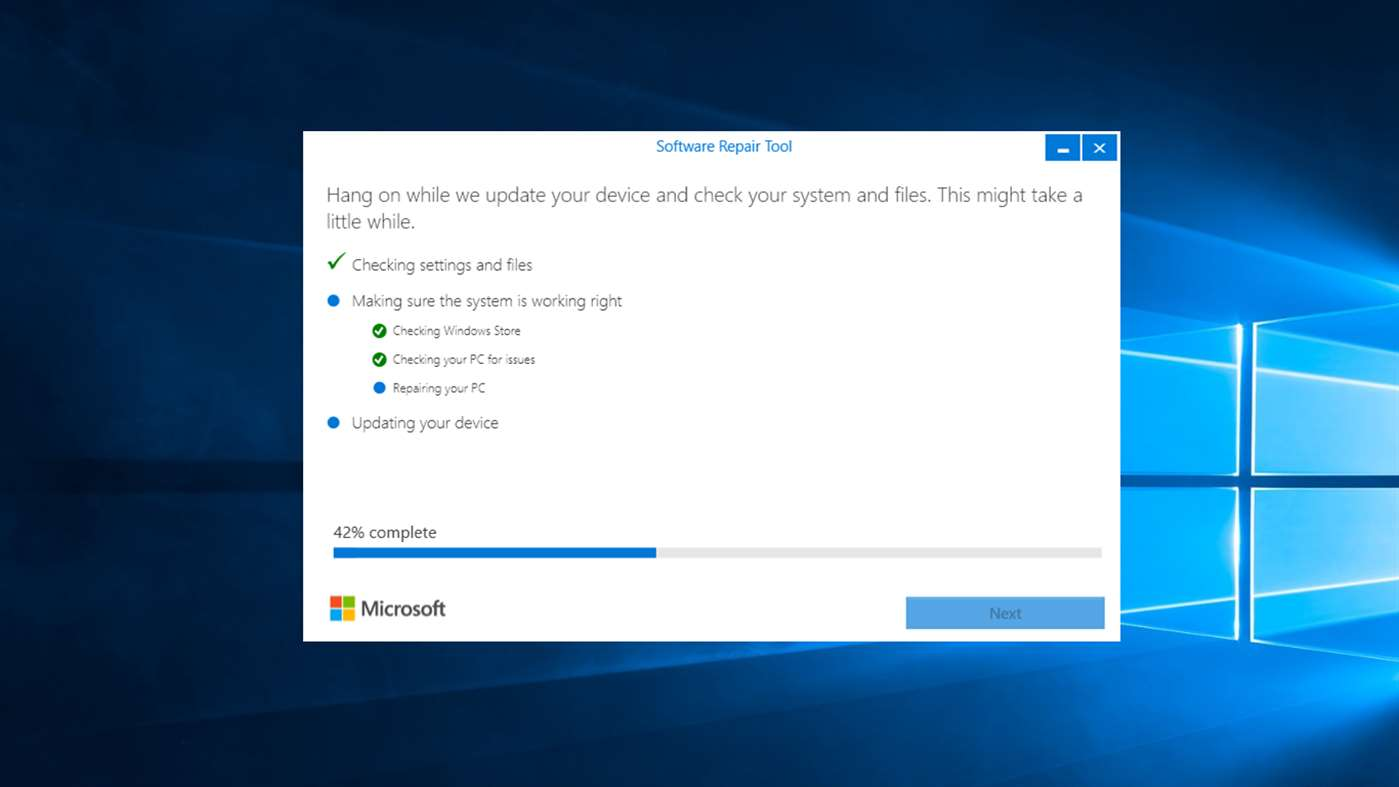 checking account software for windows 10
