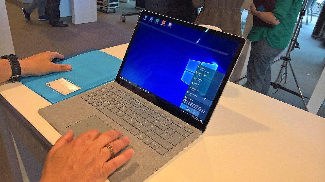 Surface Laptop Test Design