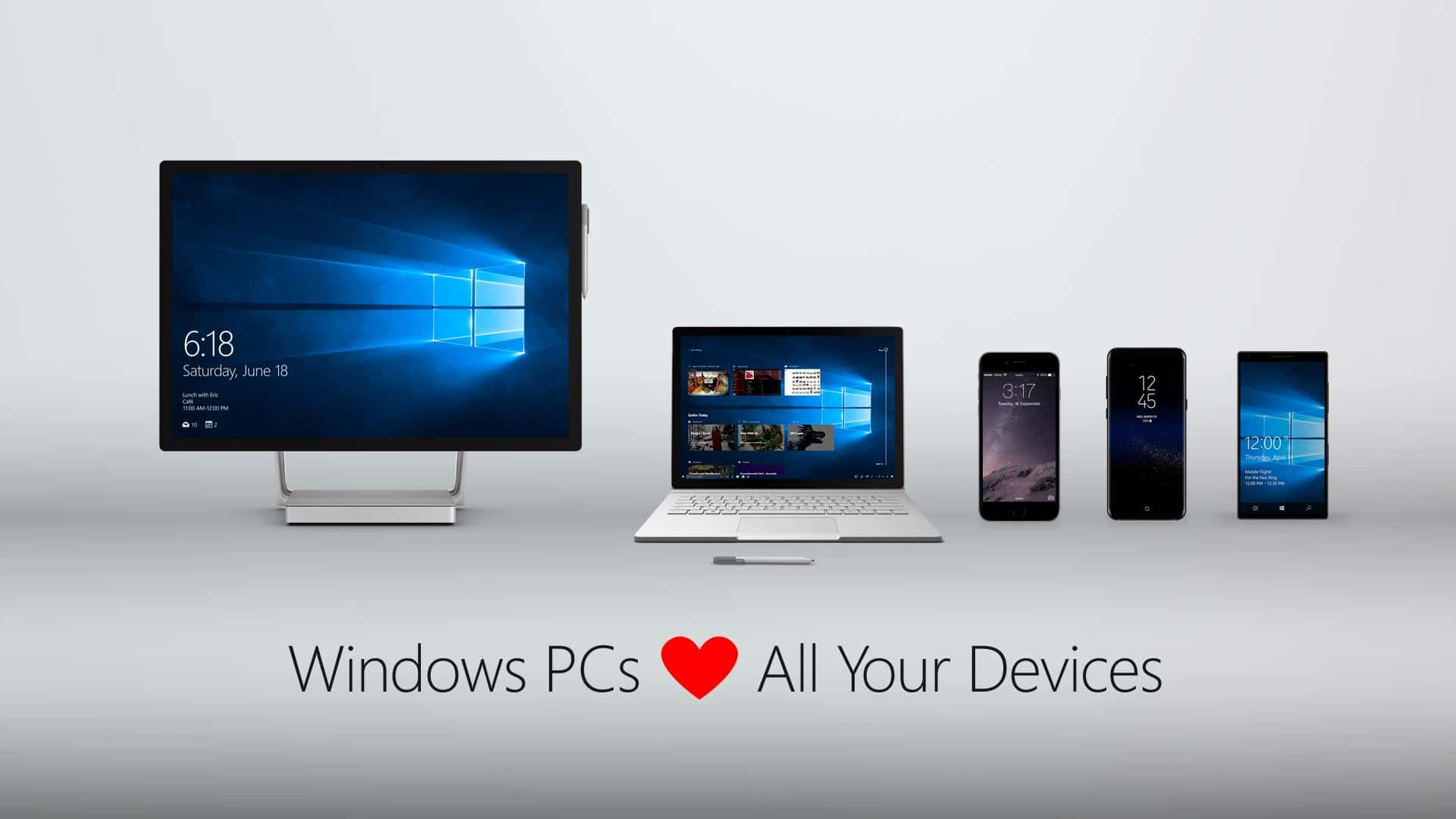 Windows loves all your devices
