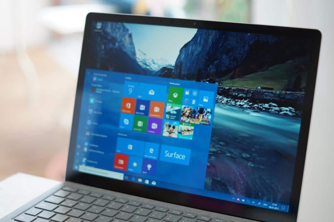Surface Laptop Test