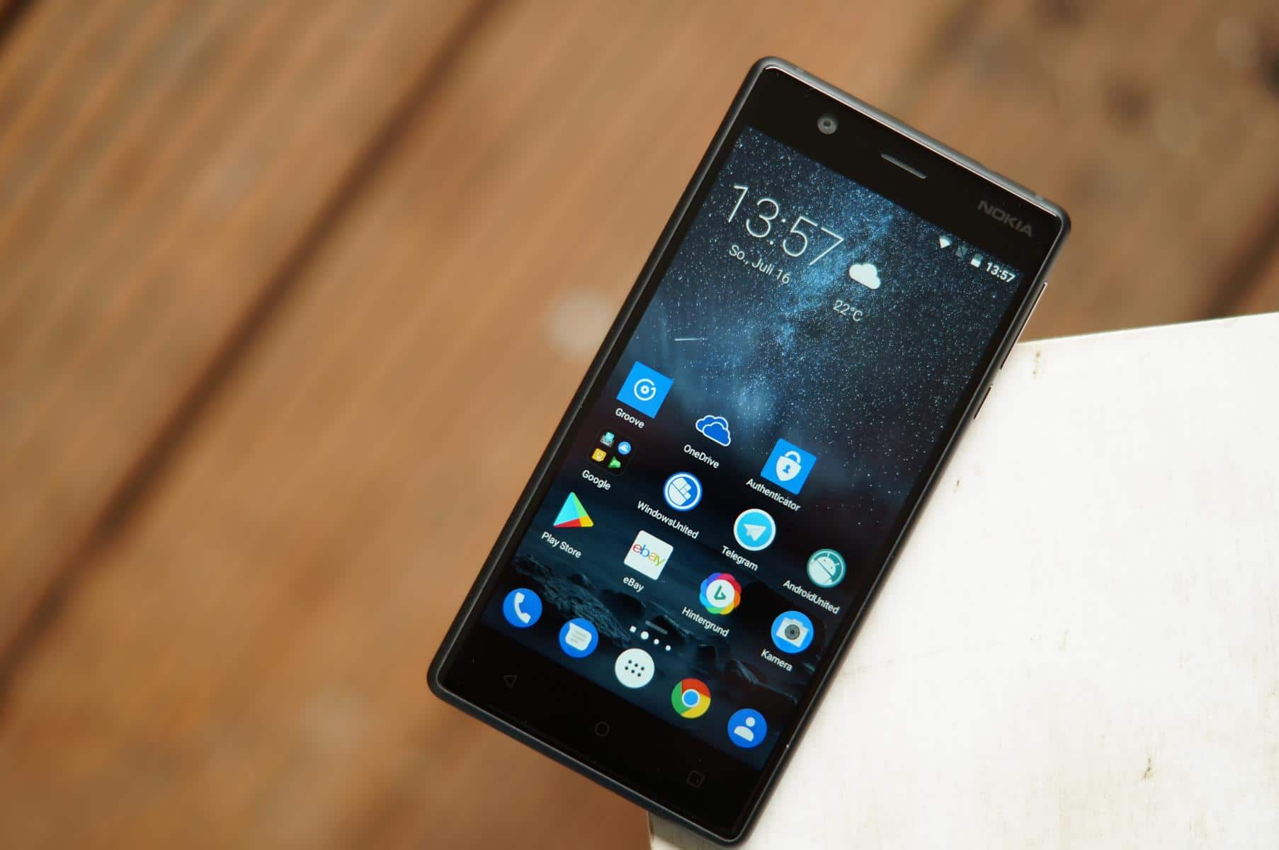 Das Nokia 3 - absoluter Einstieg für €159