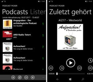 PodcastPicker App