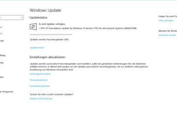 Kumulatives Update KB4032188 bringt Build 15063.502