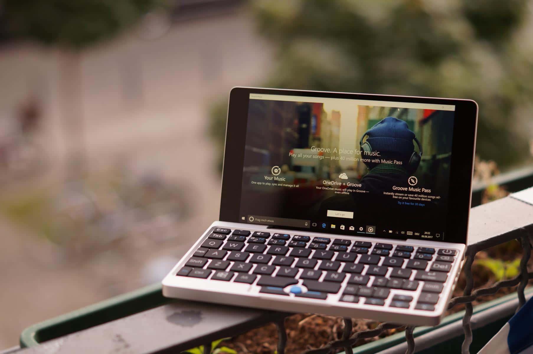 test gpd pocket mini laptop taugt das 7 zoll windows 10 notebook windowsunited. Black Bedroom Furniture Sets. Home Design Ideas