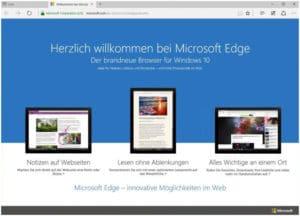 Microsoft Edge PWA Download