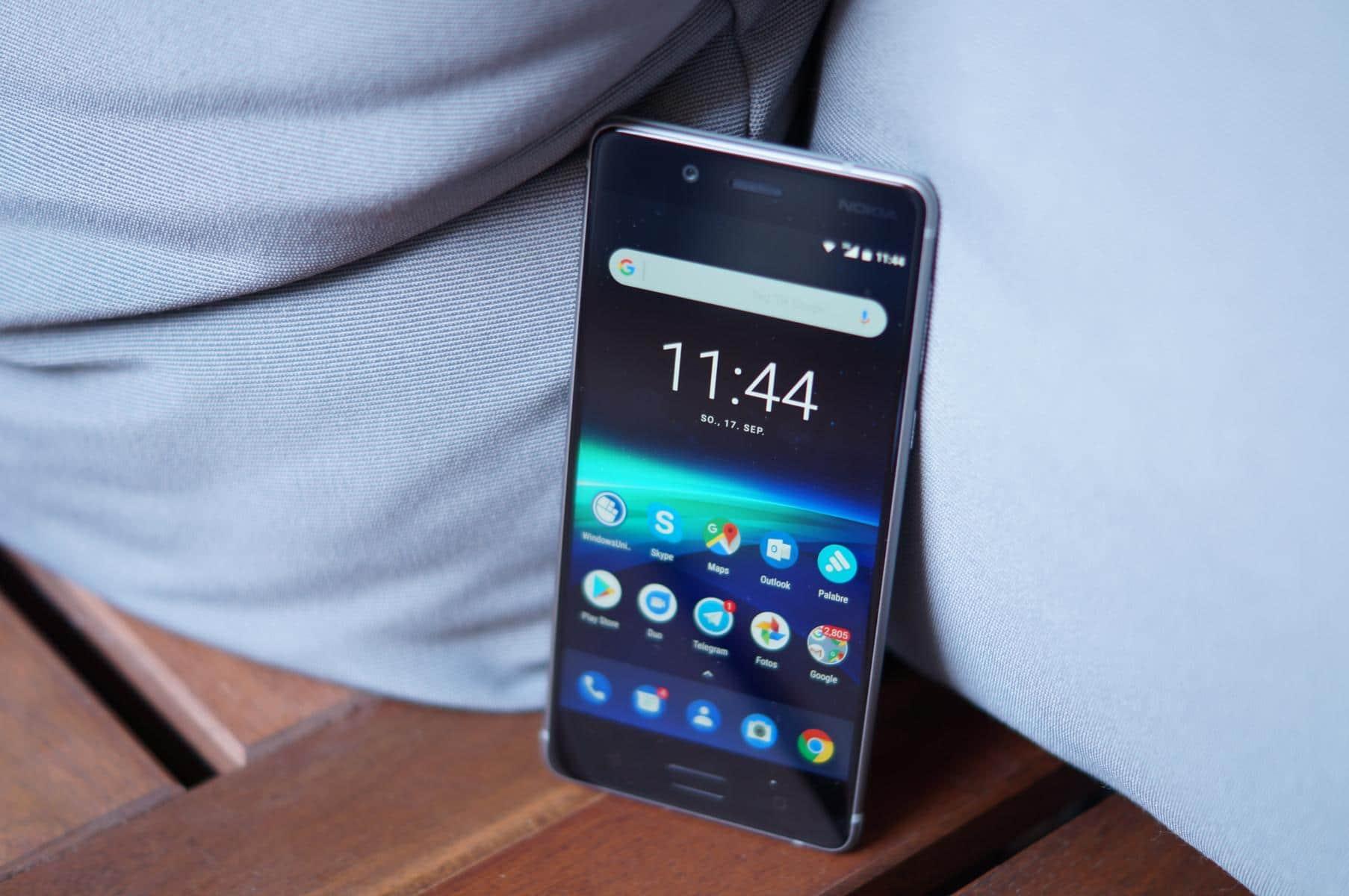 Nokia 8 Android 9 Pie Kamera