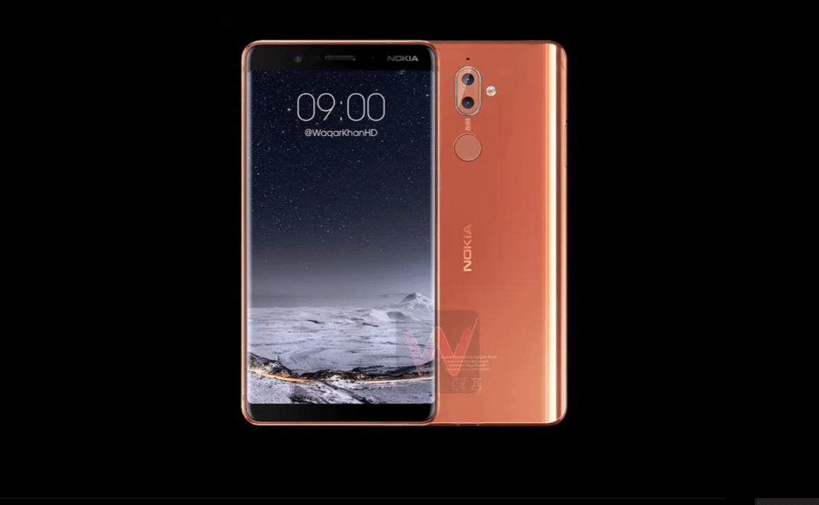 Nokia 9 Wireless Charging