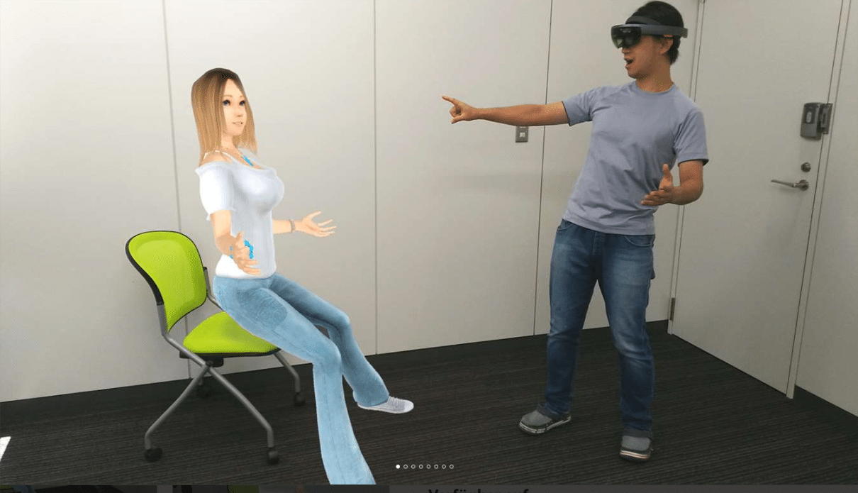 Virtual reality dating sites