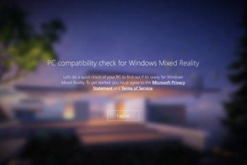 Windows Mixed Reality Check