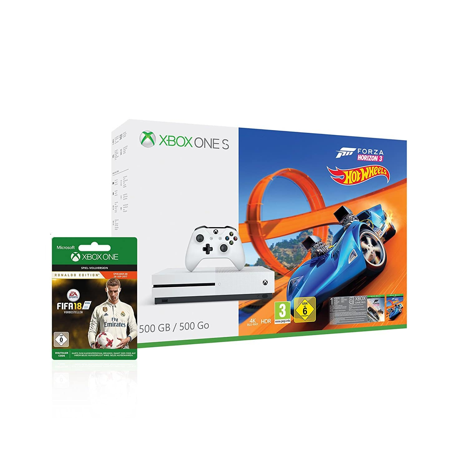 anpfiff fifa 18 im bundle mit xbox one s im sale und mehr windowsunited. Black Bedroom Furniture Sets. Home Design Ideas