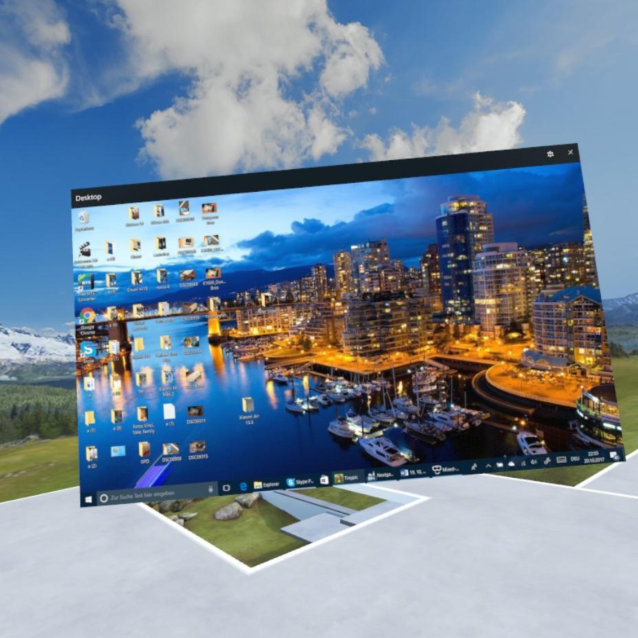 Lenovo Explorer Windows Mixed Reality Desktop