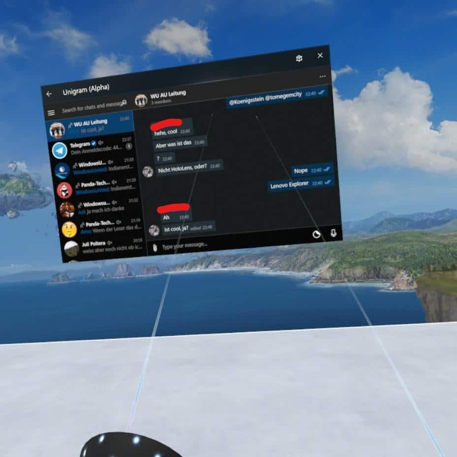 Lenovo Explorer Windows Mixed Reality