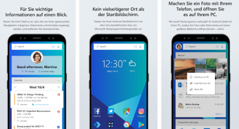 Microsoft launcher Microsoft Launcher, Update, version 4.2.0.37980, changelog, download
