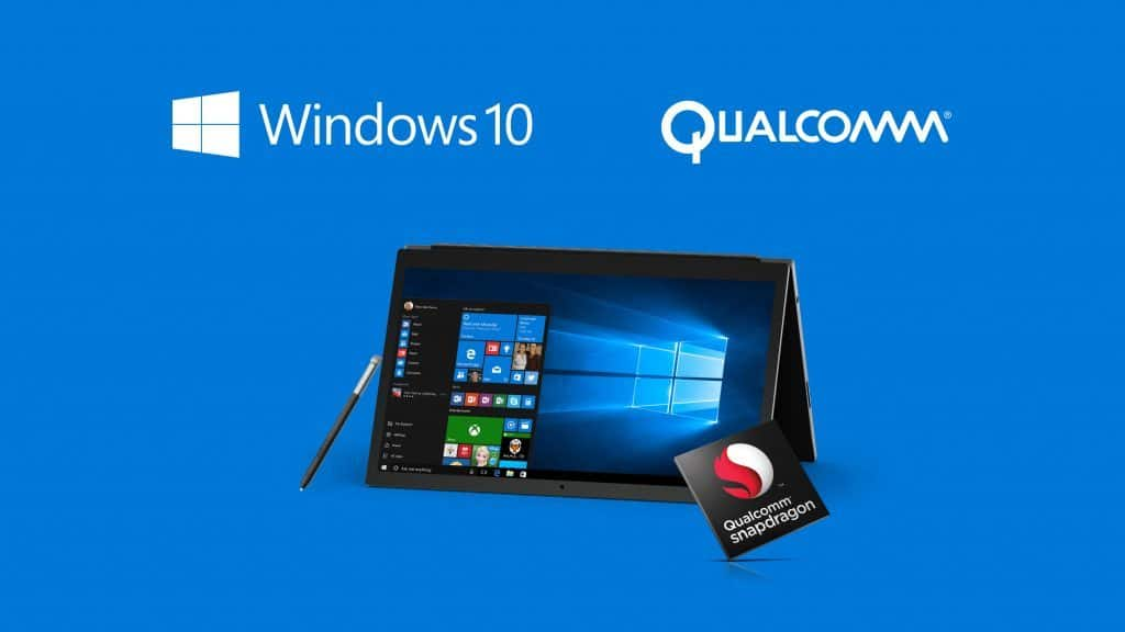 Windows 10 ARM Qualcomm Snapdragon