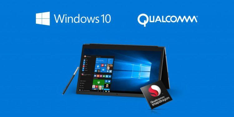 Windows 10 on ARM Qualcomm