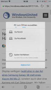 iPhone und PC synchronisieren