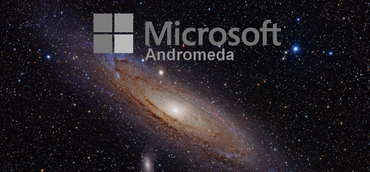 Andromeda Microsoft windows 10 sdk